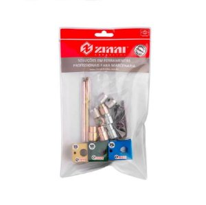 Zinni - Kit Gabarito Cavilhas - 15, 18, 25mm - Sem Brocas - (AZ010GAB09X)