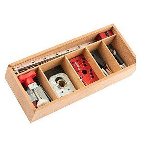 Zinni - Kit Gabarito Combo Minifix - Sem Broca e Fresa - #47 (Z01GAB703X)