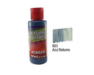 Acrilex - Betume Colors 60ml - Azul Noturno (923)