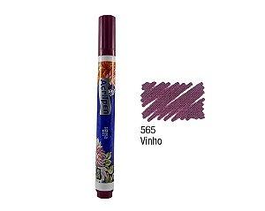 Acrilex - Caneta p/ Marcar Tecidos - Acrilpen - Vinho (565)