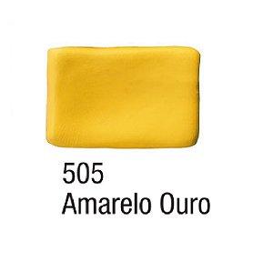 Acrilex - Massa para Biscuit 90g - Amarelo Ouro (505)