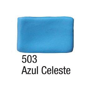 Acrilex - Massa para Biscuit 90g - Azul Celeste (503)
