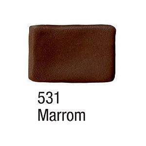 Acrilex - Massa para Biscuit 90g – Marrom (531)