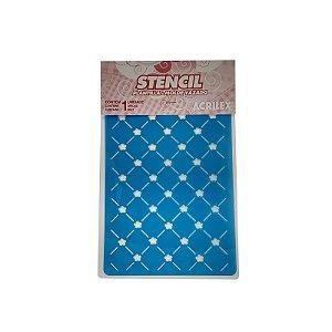 Acrilex - Molde p/ Pintura - Stencil 210 x 150mm - Borda 3 (153)