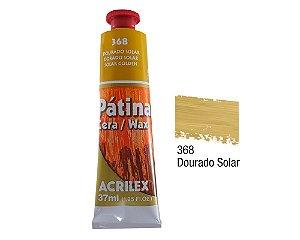 Acrilex - Patina em Cera 37ml - Dourado (368)