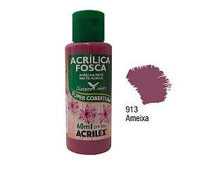 Acrilex - Tinta Acrílica Fosca 60ml - Ameixa (913)