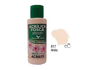 Acrilex - Tinta Acrílica Fosca 60ml - Areia (817)