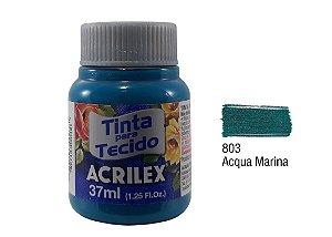 Acrilex - Tinta p/ Tecido Fosca 37ml - Lilás Bebê (809)
