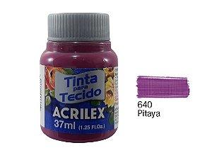 Acrilex - Tinta p/ Tecido Fosca 37ml - Pitaya (640)