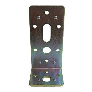 Minutex - Placa de Junção Dobrada 45 x 50 x 110mm - Aço Galvanizado