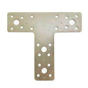 Minutex - Placa de Junção T 150 x 135mm - Aço Galvanizado