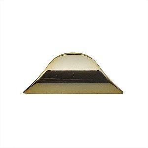 Criativa - Puxador Concha p/ Móveis - 60mm - Zamac - Dourado - 50.04.0005-44