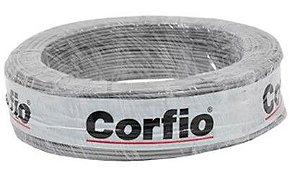 Corfio Granel - Rolo Cabo Flexível - 750V - 1,5mm - 1MT - Cinza - Antichama - BWF