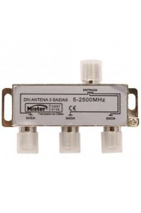 Mister - Divisor Antena 3 Saidas AF 2500MHz C/CONEC 100216