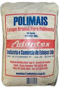 Adantex - Estopa para Polimento Extra Branca - 400g -109967