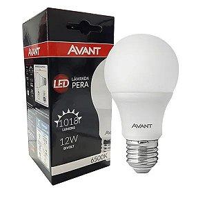 Avant - Lâmpada LED Pera 12W - 6500K Bivolt - 6146