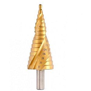 MTX - Broca Escalonada Espiral HSS 4 mm a 32 mm - 723599