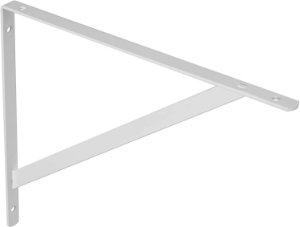 Bemfixa - Suporte Mão Francesa - 25cm - Branco - 6196