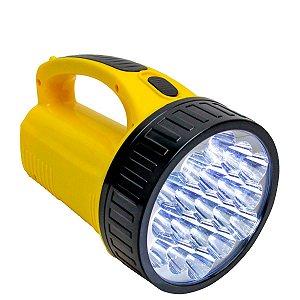 DP - Lanterna Holofote Super - Alta Potência 19 Leds - DP-1706