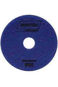 Norton - Disco Diamantado Brilho D'Água 100MM GRÃO 50 - 10 UN