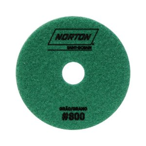 Norton - Disco Diamantado Brilho D'Água 100MM GRÃO 800 - 10 UN