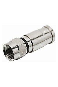 Alumínio Santa Catarina - Conector F Compressão RG59/ PRO59