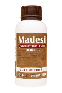 Salisil - Tingidor de Vernizes e Seladores Madesil - Cedro 100ml