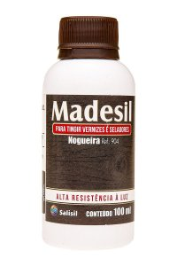 Salisil - Tingidor de Vernizes e Seladores Madesil - Nogueira 100ml