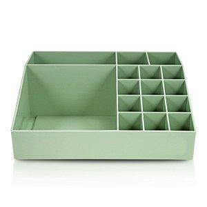 Organizador Multiuso 12 Peças M Verde - Jacki Design