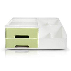 Organizador de Mesa Multifuncional M Verde - Jacki Design