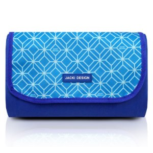 Tapete Piquenique Impermeável Azul - Jacki Design
