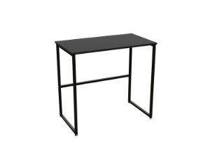 DiCarlo - Escrivaninha Delin Preto - 80 x 45 x 75cm - 1166FPA06.0003