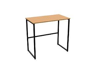 DiCarlo - Escrivaninha Delin Preto / Corazzi - 80 x 45 x 75cm - 1166FPA06.0001