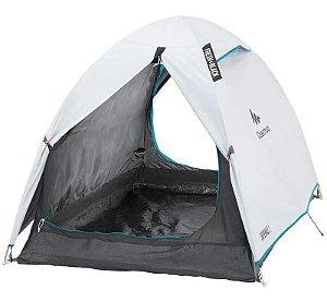 Barraca Camping Arpenaz 2 Fresh&black (2 Pessoas) Teto Duplo