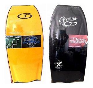Prancha Bodyboard Genesis Modelo Extreme Amarelo com Preto