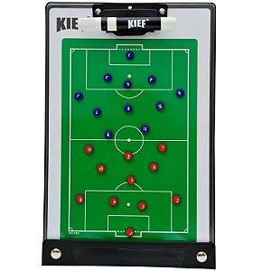 Prancheta Tática Magnética Futebol De Campo Kief