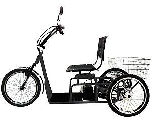 Triciclo Elétrico 800w Aro 20 Freio A Disco