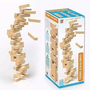 Jogo Torre Equilíbrio Em Madeira Jungues Similar Ao Jenga
