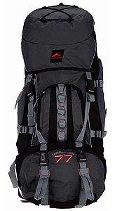 Mochila Camping Trekking Trilhas e Rumos Crampon Tech 77 Litros