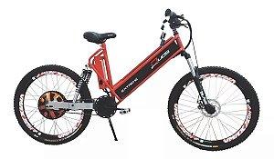 Bicicleta Elétrica 800w Freio Disco Duos Bike Extreme