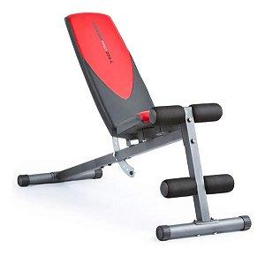 Banco Supino Inclinável Weider 255l Pro Musculação Fitness