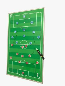 Quadro Tático Magnético De Parede Futebol De Campo