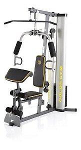 Estação De Musculação Gold´s Gym Xrs 55 C/ Banco Scott