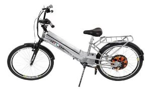 Bicicleta Elétrica Daytona C/ Garupa Farol Suporte Até 125