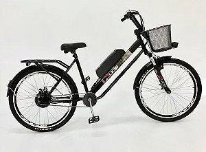 Bicicleta Elétrica Flex 350 Watts Duos Bike Bateria Litio