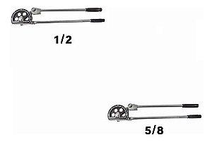 Kit Curvador De Tubos 1/2 E 5/8 180 Graus Cobre E Aluminio