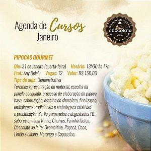 Curso Presencial - Pipoca Gourmet - Chef Any Belalu 31.01.2018