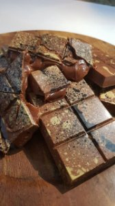 Curso Presencial -  Surpreendentes barras de chocolate - Chef Michelle Flosi 18.04.2018