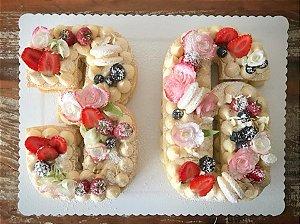 Curso Presencial - Number Cake  - Chef Érica Fedato 11.06.2018
