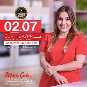 Curso Presencial: Bolos florais com Mara Cakes - 02.07.18 - Turma 01- 08:00 as 13:00hrs